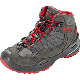 Lowa Robin GTX QC Shoes Kids anthracite/red